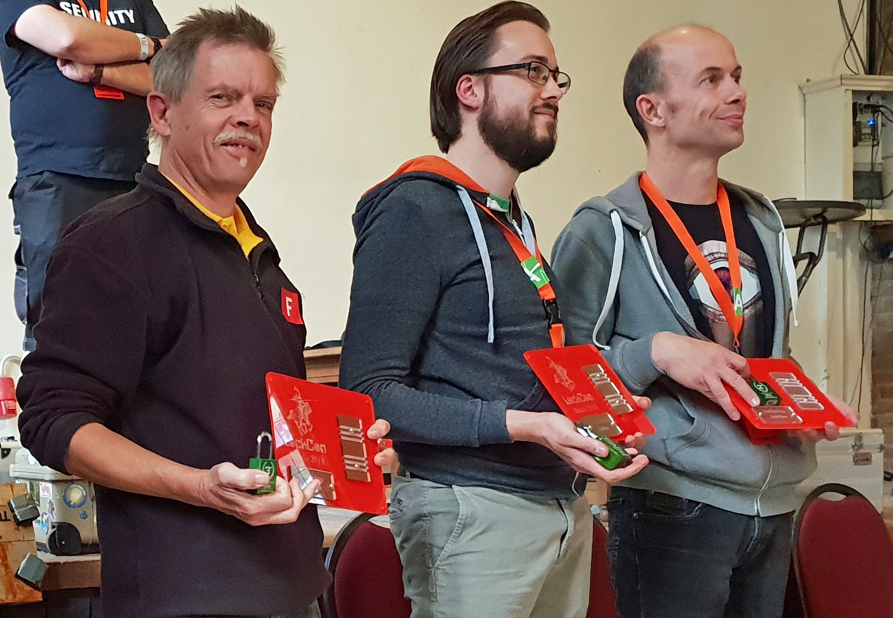 Lockpicking winners