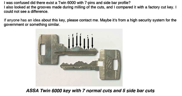 assa twin special 7 pin edition?