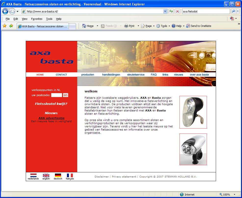 the axa website