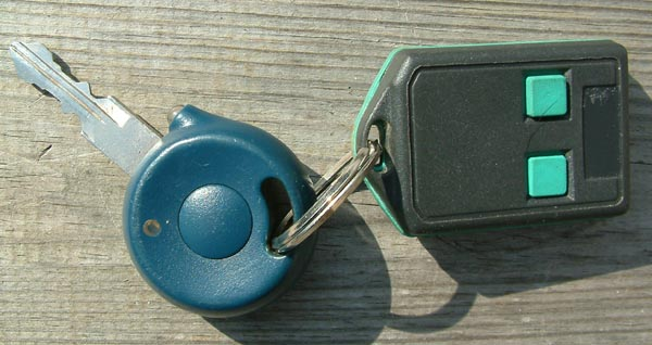 car key and remote