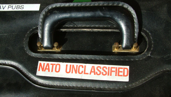 nato unclassified suitcase