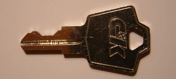 nedap A126 C&K key