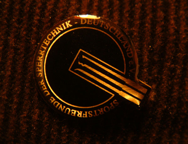 golden champion pin