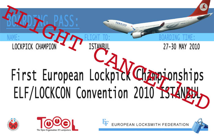 no lockcon in Turkey ...