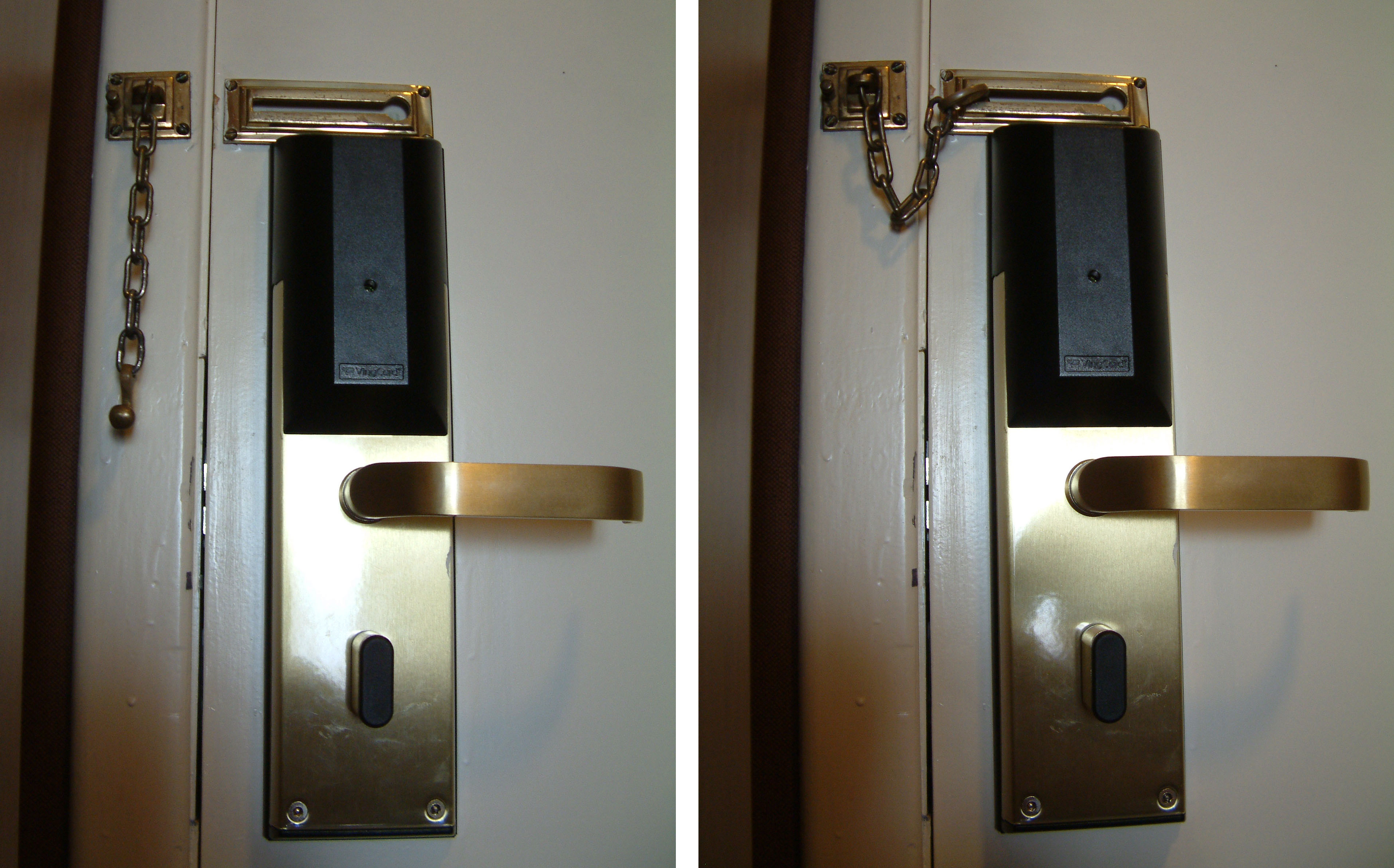 How To Get Into A Door With A Chain Lock Photo Album - Woonv.com ...