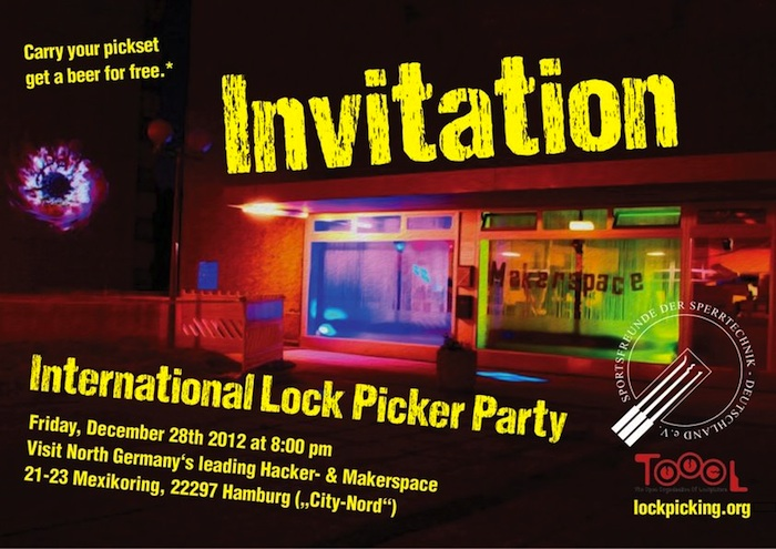 lockpicker party Hamburg
